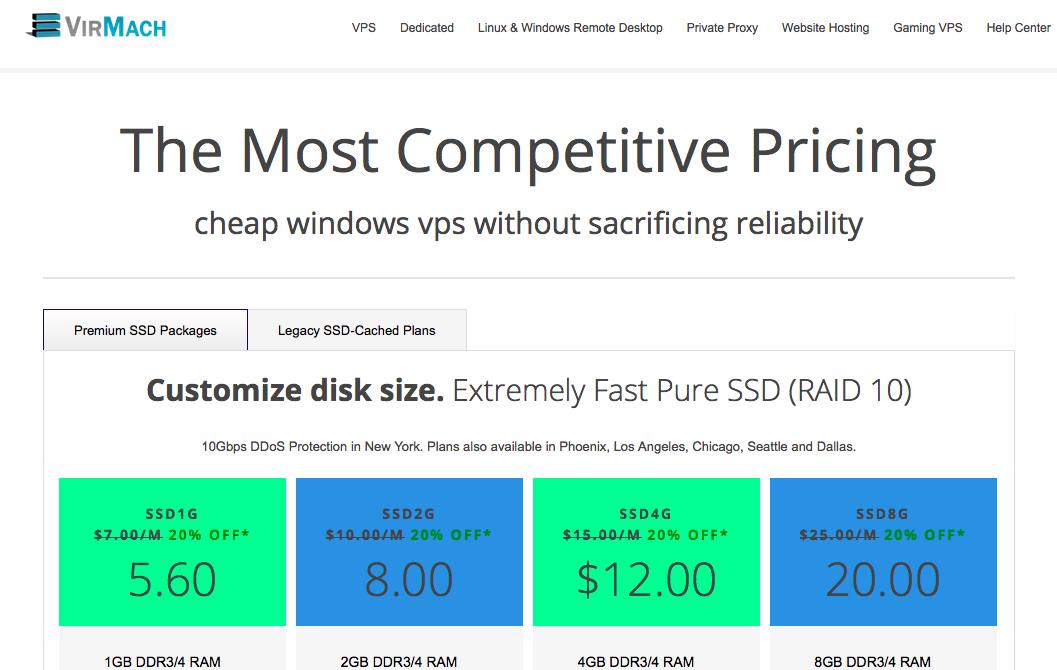Windows Remote Desktop VPS